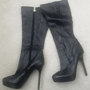 Lisa Pliner Leather Boots NEW